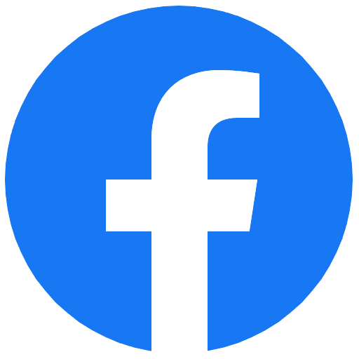 Logo of social media company facebook