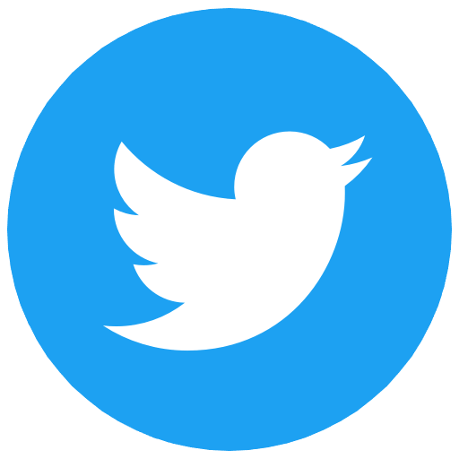 Logo of social media company twitter